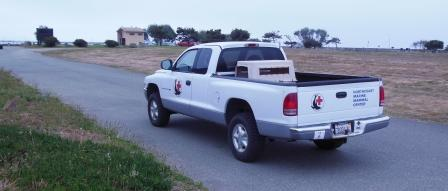 The NMMC Rescue Truck is back on the road!